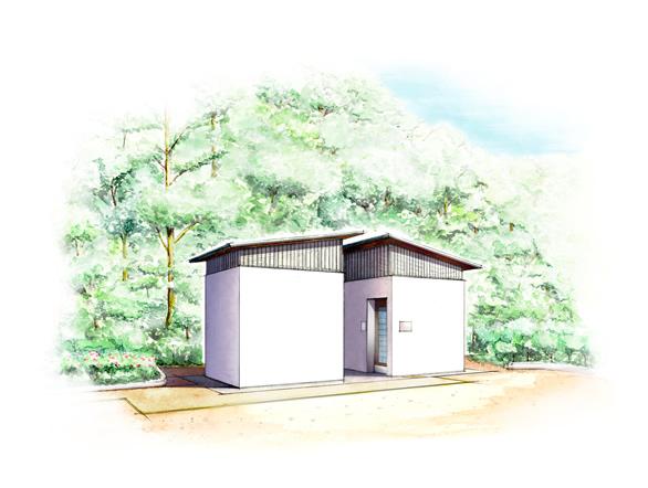 静原公園公衆トイレ